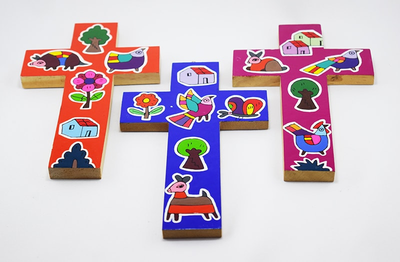 Colorful Life crosses