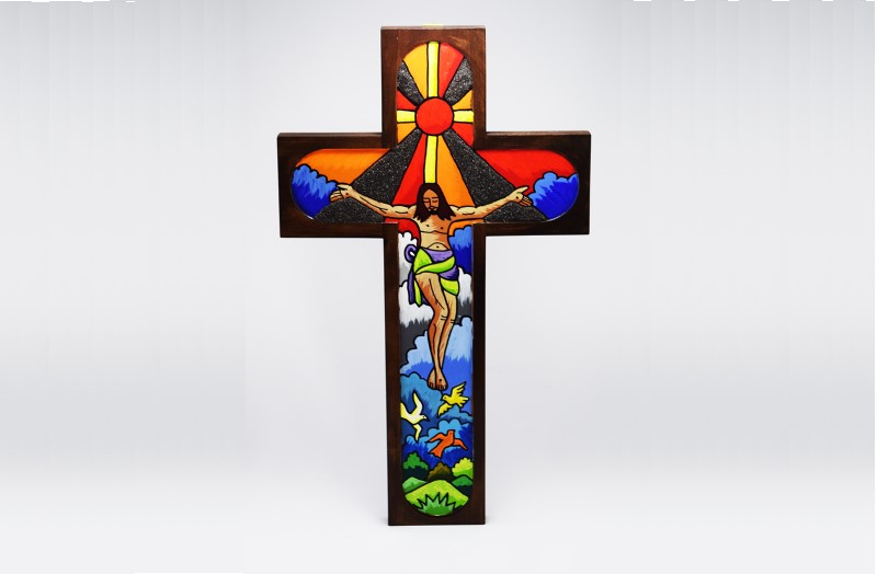 Divine Grace wooden cross